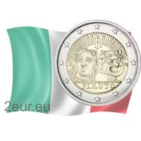 ITALY 2 EURO 2016 - 200TH ANNIVERSARY OF THE DEATH OF TITO MACCIO PLAUTO