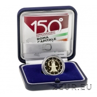 ITALY 2 EURO 2021 - 150 YEARS SINCE THE PROCLAMATION OF ROME AS THE CAPITAL OF ITALY - PROOF