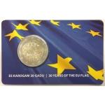 LATVIA COIN CARD