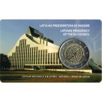 LATVIA 2 EURO 2015 - EU PRESIDENCY C/C