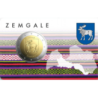 LATVIA 2 EURO 2018 - ZEMGALE C/C