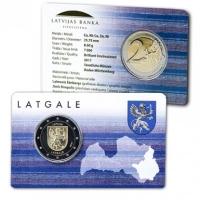 LATVIA 2 EURO 2017 - LATGALE (BU)