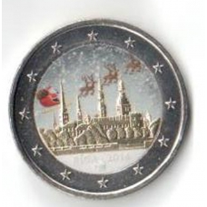 LATVIA 2 EURO 2014 - RIGA - EUROPEAN CAPITAL OF CULTURE