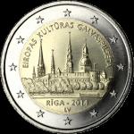 LATVIA 2 EURO