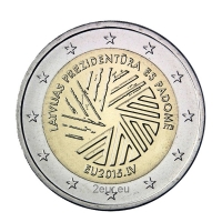 LATVIA 2 EURO 2015 - EU PRESIDENCY