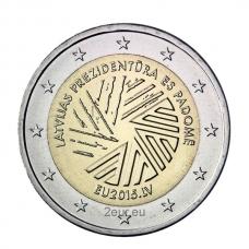 LATVIA 2 EURO 2015 - EU PRESIDENCY