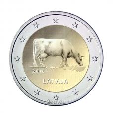 LATVIA 2 EURO 2016 - AGRICULTURE OF LATVIA