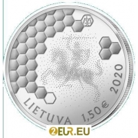 LITHUANIA 1.5 EURO 2020 - BEEKEEPING