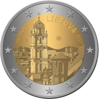LITHUANIA 2 EURO 2017 - VILNIUS CAPITAL OF CULTURE