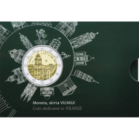 LITHUANIA 2 EURO 2017 - VILNIUS CAPITAL OF CULTURE - C/C