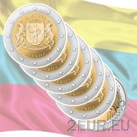 LITHUANIA 2 EURO 2021 - Dzūkija (5pcs)