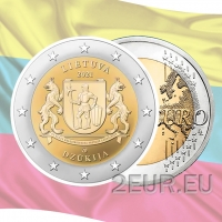 LITHUANIA 2 EURO 2021 - Dzūkija