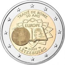 LUXEMBOURG 2 EURO 2007 - TREATY OF ROME