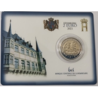 LUXEMBOURG 2 EURO 2021 - 40th wedding anniversary of Grand Duke Henri and Grand Duchess Maria Teresa - C/C