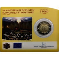 LUXEMBOURG 2 EURO 2009 - EMU