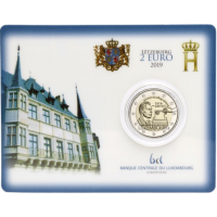LUXEMBOURG 2 EURO 2019-2 - 100TH ANNIVERSARY OF UNIVERSAL SUFFRAGE - C/C