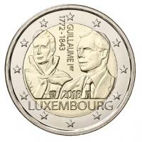 LUXEMBOURG 2 EURO 2018 - GRAND DUKE GUILLAUME I