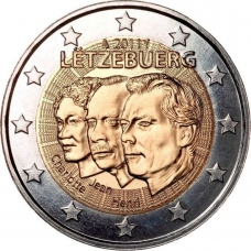 LUXEMBOURG 2 EURO 2011 - JEAN DE LUXEMBOURG