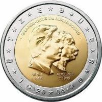 LUXEMBOURG 2 EURO 2005 - GRANDS DUKES DE LUXEMBOURG