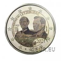 LUXEMBOURG 2 EURO 2021 - 100th anniversary of the birth of Grand Duke Jean - PHOTO