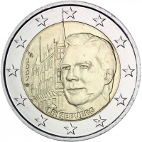 LUXEMBOURG 2 EURO 2007 - GRAND DUCAL PALACE
