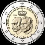 LUXUMBOURG 2 EURO COINS