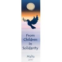 MALTA 2 EURO 2017 -  PEACE(BU)