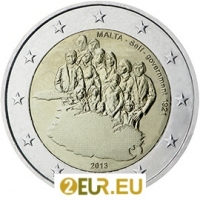 MALTA 2 EURO 2013 - ESTABLISHMENT OF SELF-GOVERNMENT IN 1921