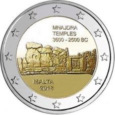 MALTA 2EURO 2018 - MNAJDRA