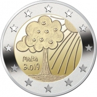 MALTA 2 EURO 2019/2 - NATURE AND ENVIRONMENT