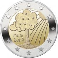 MALTA 2 EURO 2019/2 - NATURE AND ENVIRONMENT