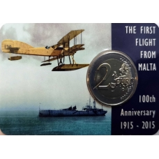 MALTA 2 EURO 2015 - FIRST FLIGHT OF MALTA CC
