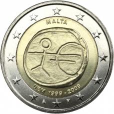 MALTA 2 EURO 2009 - EMU