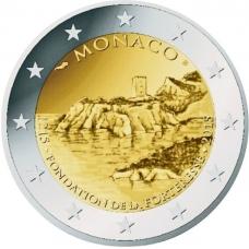 MONACO 2 EURO 2015 - 800TH ANNIVERSARY FORTERESSE CASTLE