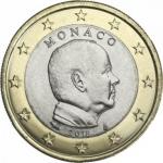 MONACO 1 EURO UNC