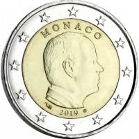 MONACO 2019 - 2 EURO PRINCE ALBERT II