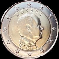 MONACO 2018 - 2 EURO PRINCE ALBERT II