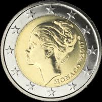 MONACO 2 EURO 2007 - GRACE KELLY