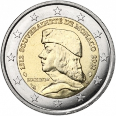 MONACO 2 EURO 2012 - LUCIEN GRIMALDI