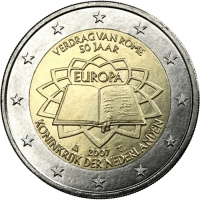 NETHERLANDS 2 EURO 2007 - TREATY OF ROME