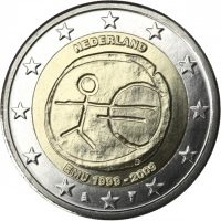 NETHERLANDS 2 EURO 2009 - EMU