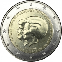 NETHERLANDS 2 EURO 2013 - DOUBLE PORTRAIT