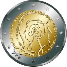 NETHERLANDS 2 EURO 2013 - KINGDOM OF THE NETHERLANDS