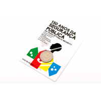 PORTUGAL 2 EURO 2017 - 150 YEARS OF THE POLICE AND PUBLIC SECURITY (BU)