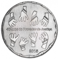 PORTUGAL 2.5 EURO 2015 - 40 YEARS OMBUDSMAN