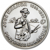 PORTUGAL 2.5 EURO 2012 - GREAT ARTISTS - JOSE MALHOA