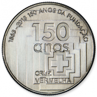 PORTUGAL 2.5 EURO 2013 - 150 YEARS OF THE RED CROSS FUND