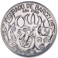 PORTUGAL 2.5 EURO 2016 - BARCELOS FIGURED