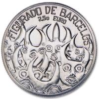 PORTUGAL 2.5 EURO 2016 - BARCELOS FIGURED