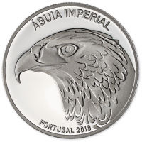 PORTUGAL 5 EURO 2018 - IMPERIAL EAGLE